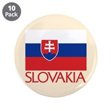 """00-ornR-slovakiaflag.png 3.5"""" Button (10 pack)"""
