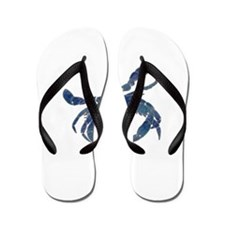 Chesapeake Bay Blue Crab Flip Flops