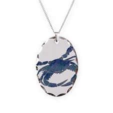 Chesapeake Bay Blue Crab Necklace