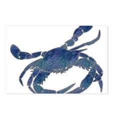 Chesapeake Bay Blue Crab Postcards (Package of 8)