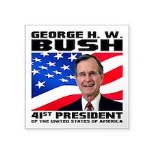 """41 Bush Square Sticker 3"""" x 3"""""""
