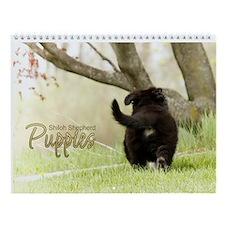 2015 Shiloh Puppy Wall Calendar
