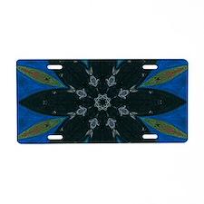 Solstice Art Mandala Aluminum License Plate