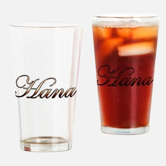 Gold Hana Drinking Glass