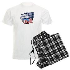 Navy Grandfather Pajamas