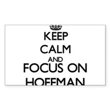 Keep calm and Focus on Hoffman Decal