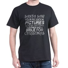 Santa Saw Your Pictures Online You're T-Shirt