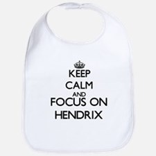 Keep calm and Focus on Hendrix Bib