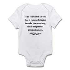 Ralph Waldo Emerson 4 Infant Bodysuit