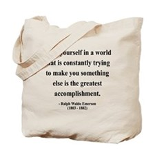 Ralph Waldo Emerson 4 Tote Bag