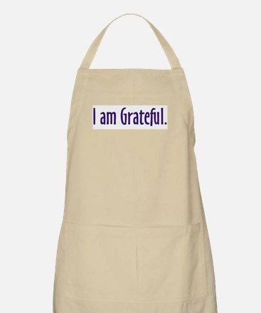 I Am Grateful Apron