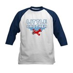 Little Brother - Airplane Kids Baseball Jersey