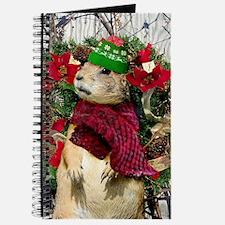 Christmas Prairie dog Journal