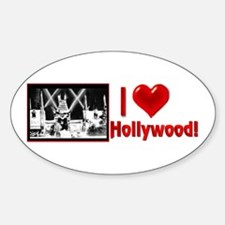 I Love Hollywood Decal