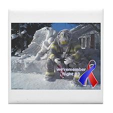 Remembering Flight 93 Tile Coaster