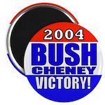 2004 Bush Cheney Victory! Magnet