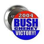 2004 Bush Cheney Victory! Button (10 pk)