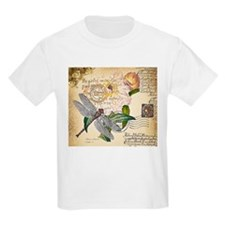 Dragonfly collage T-Shirt