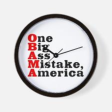 Obama: One big ass mistake - Wall Clock