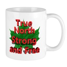 True North Strong and Free Mugs