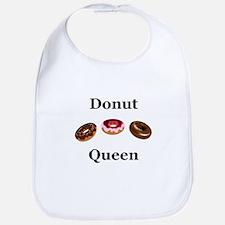 Donut Queen Bib