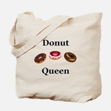 Donut Queen Tote Bag