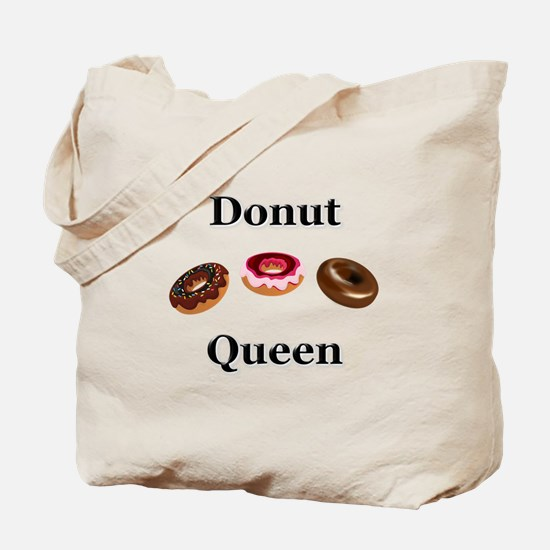 Donut Queen Tote Bag
