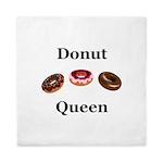 Donut Queen Queen Duvet
