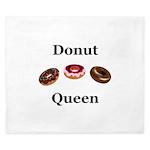 Donut Queen King Duvet