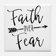 Cute Faith Tile Coaster