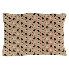Cute Curly Pillow Case