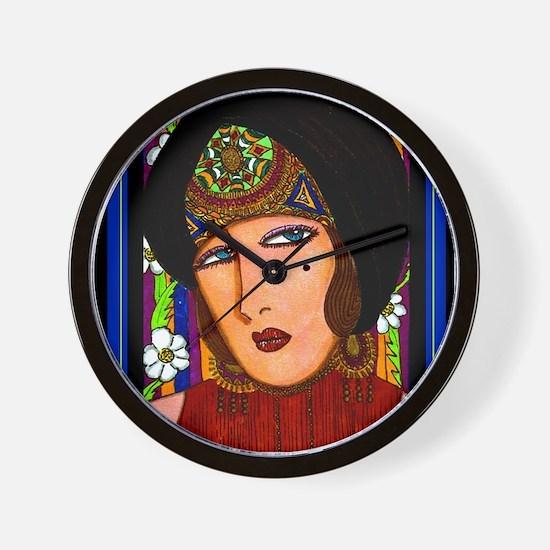 Deco Diva Wall Clock
