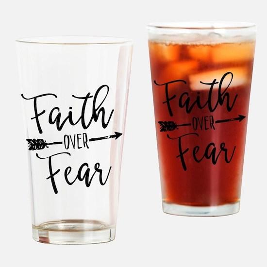 Cute Faith Drinking Glass