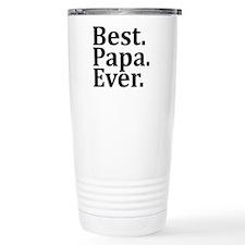 Best Papa Ever. Travel Mug
