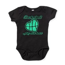 PLAY w HEART Baby Bodysuit
