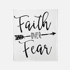 Cute Faith Throw Blanket