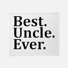 Best Uncle Ever. Throw Blanket