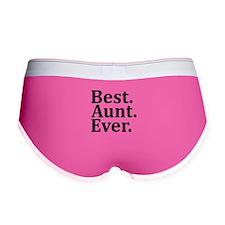 Best Aunt Ever Women's Boy Brief