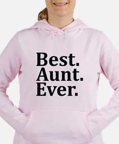 Best Aunt Ever Women's Hooded Sweatshirt