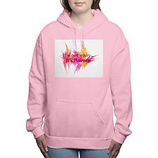 Its Not Easy Karate Women's Hooded Sweatshirt