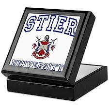 STIER University Keepsake Box