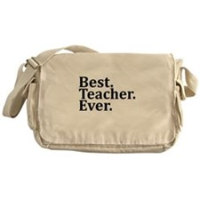 Best Teacher Ever. Messenger Bag