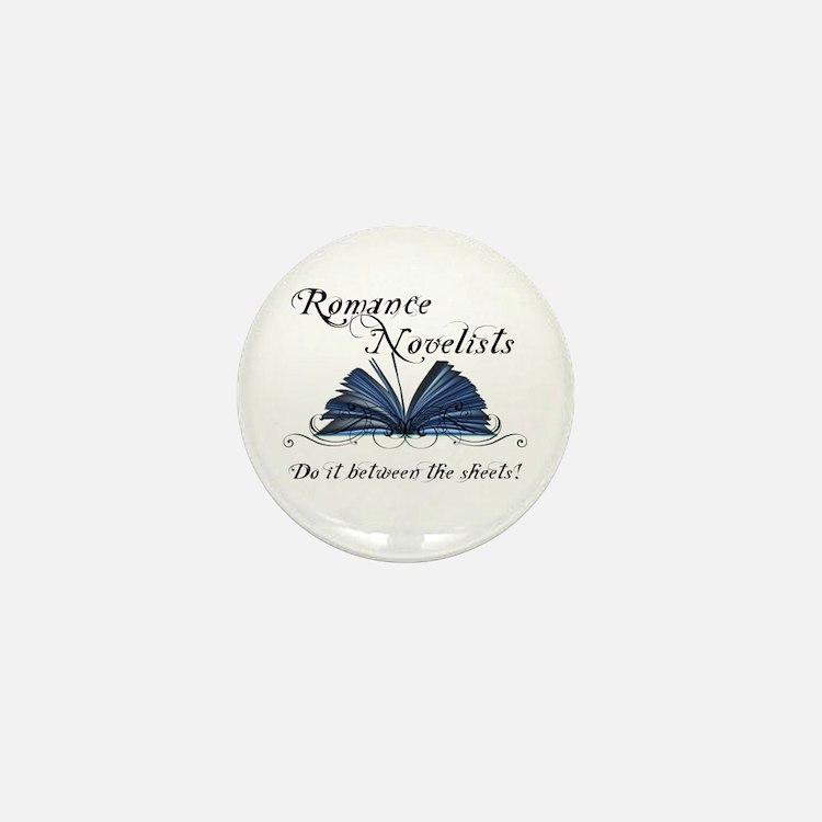 Cute Romance writer Mini Button