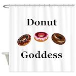 Donut Goddess Shower Curtain