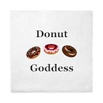 Donut Goddess Queen Duvet