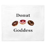 Donut Goddess King Duvet