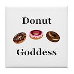 Donut Goddess Tile Coaster