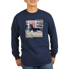 Cabin Runs Fiddler (2) Long Sleeve T-Shirt
