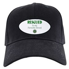 Rescued is my Favorite Breed Baseball Hat