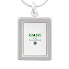 Rescued is my Favorite Breed Necklaces